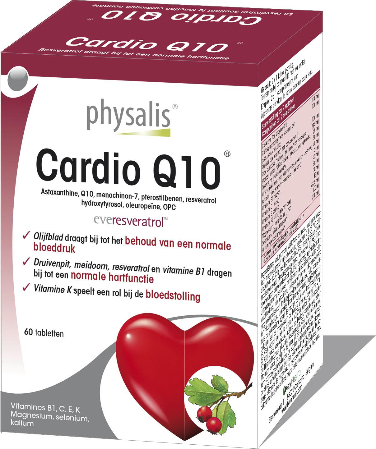 Cardio Q10  Keypharm Natuurlijke voedingssupplementen